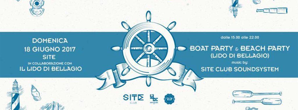 Domenica 18 Giugno - Boat & Beach Party