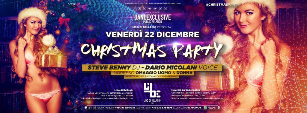 Venerdì 22 dicembre - Christmas Party