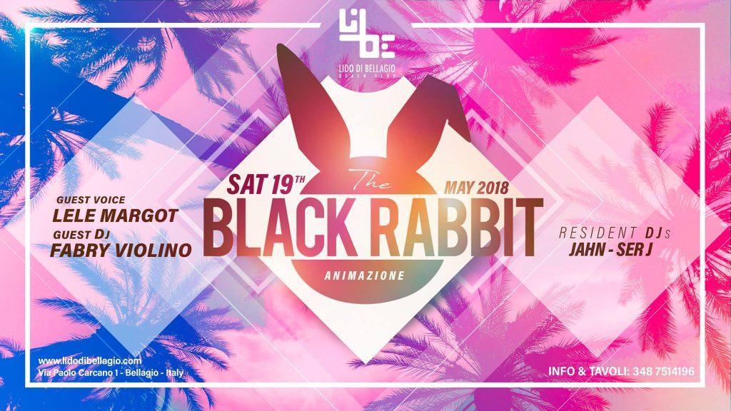 sabato 19 maggio - Black Rabbit