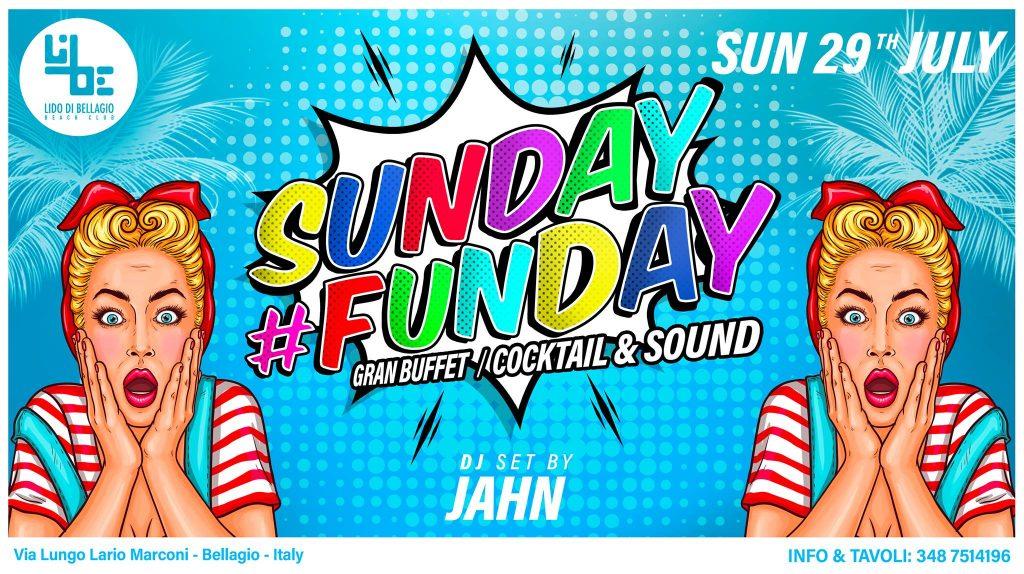 Domenica 29 Luglio - Sunday #Funday