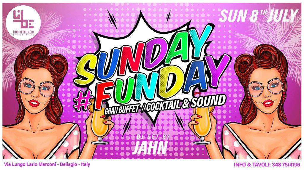 Domenica 8 Luglio - Sunday #Funday