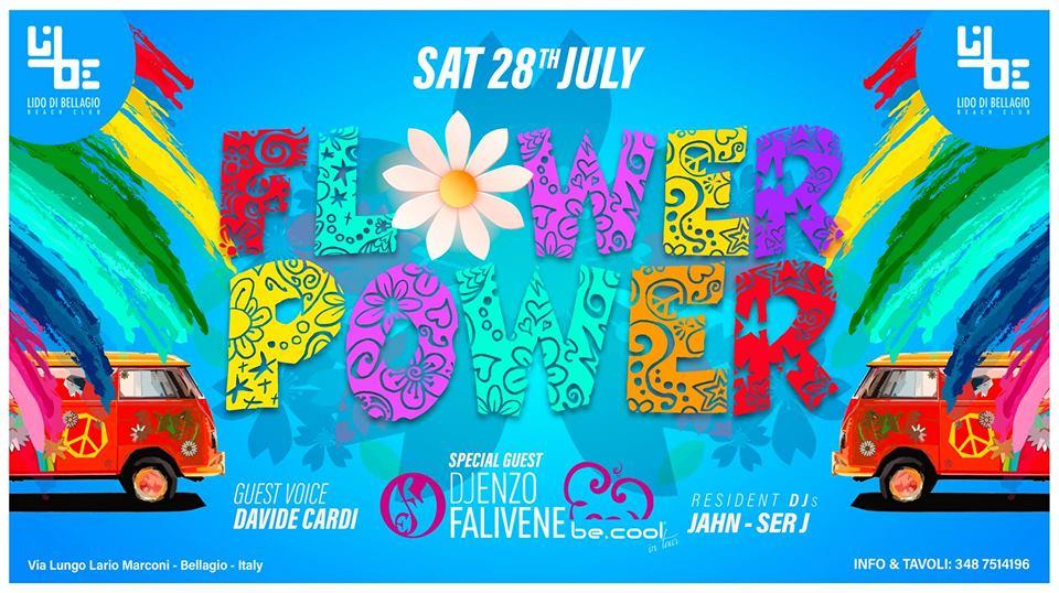 Sabato 28 Luglio - Flower Power