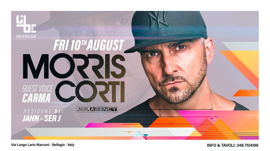 Venerdì 10 Agosto - Morris Corti