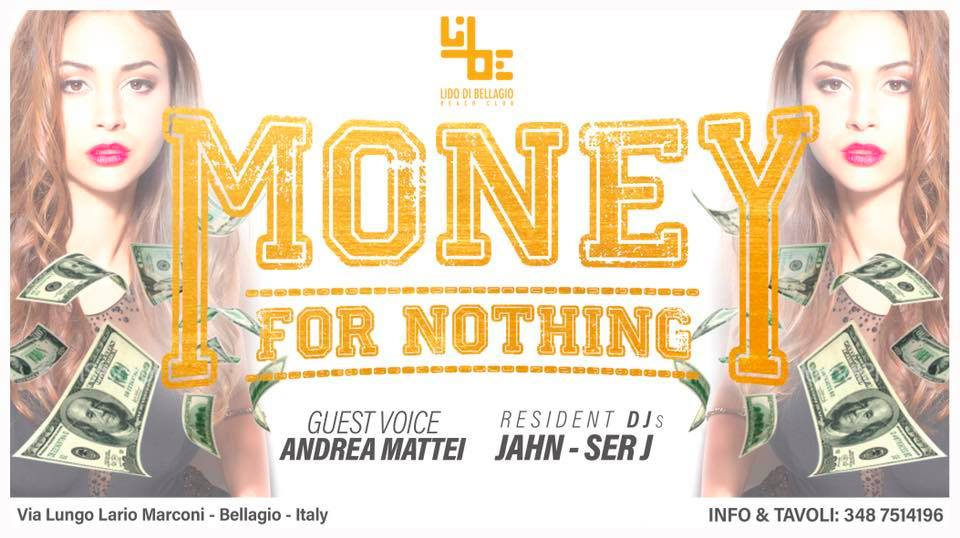 Sabato 25 Agosto - Money for Nothing