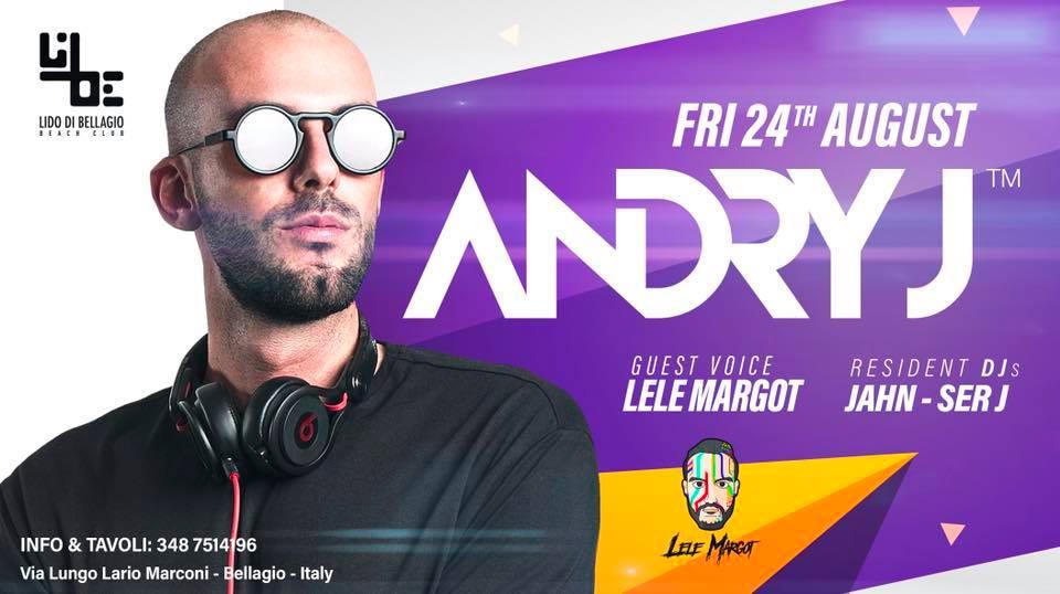 Venerdì 24 Agosto - Andry J