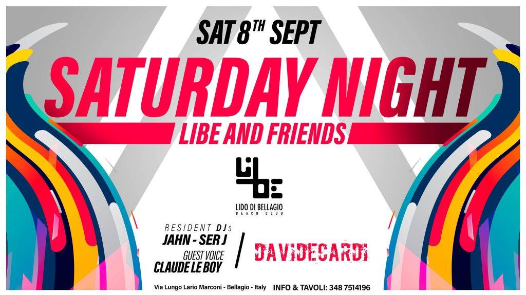 Sabato 8 settembre - LiBe & Friends