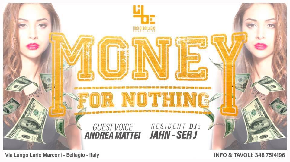 Sabato 25 Agosto - Money for Nothing