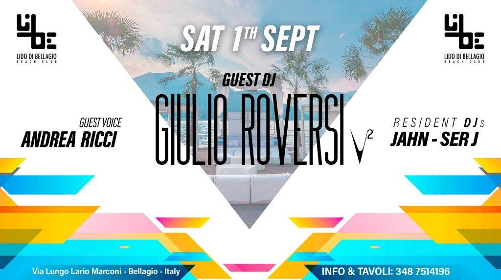 Sabato 1 Settembre - Giulio Roversi