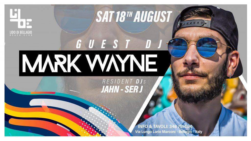 Sabato 18 Agosto - Mark Wayne
